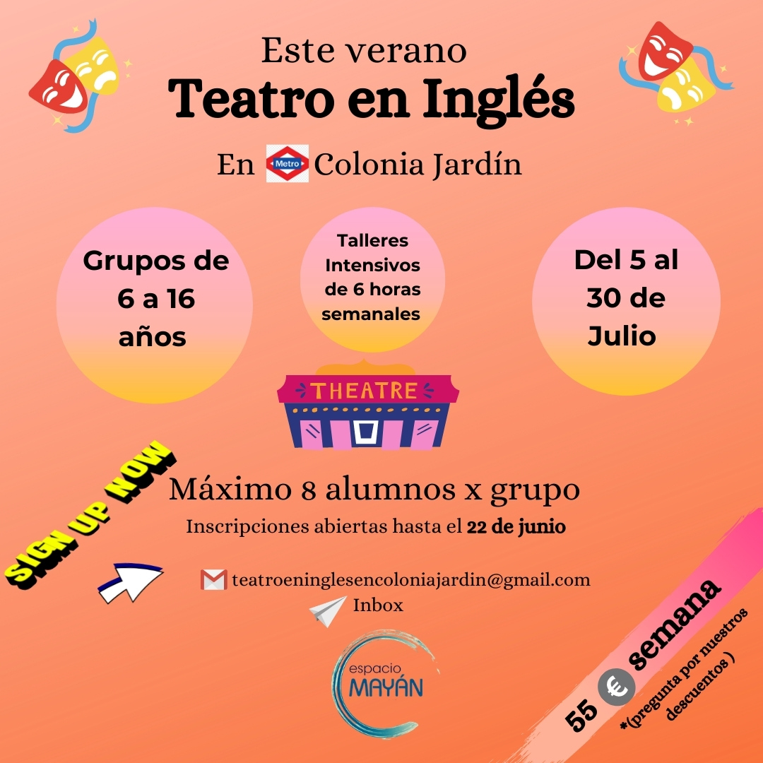 Teatro en Inglés Niños